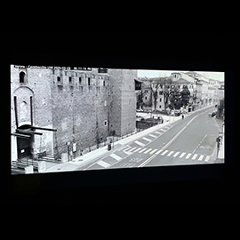 "Bruno David is pleased to present in the New Media Room ""The Last Man"", a video work by New York–based Israeli artist Dana Levy (Footage Sources: Live streaming webcams collected during the pandemic, in the Spring of the year 2020.)"